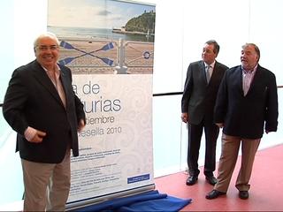 Areces en la presentación del día de Asturias