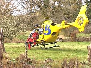 Helicóptero de los Bomberos de Asturias