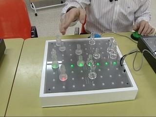 Pixboard, tablero destinado a juegos para personas con parálisis cerebral
