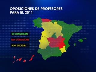 Oposiciones de profesores para el 2011