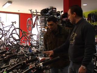 Tienda de bicicletas en Villaviciosa
