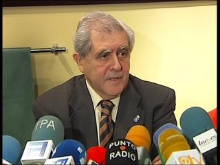 José Luis Iglesias Riopedre ofrece una rueda de prensa en Oviedo
