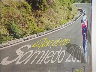 Vista parcial del cartel de las marchas cicloturistas.