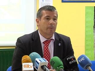 El consejero de Educación y Ciencia, Herminio Sastre Andrés