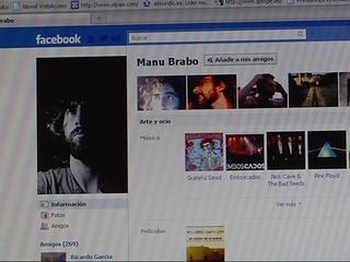 Facebook de Manu Brabo
