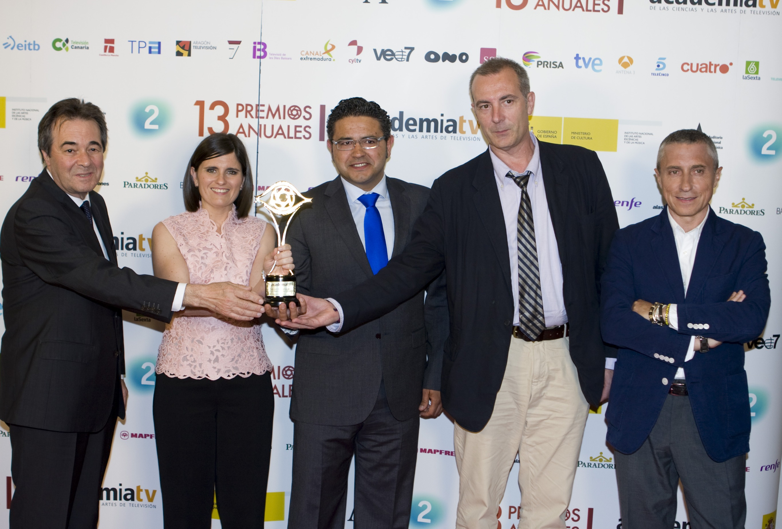 José Ramón Pérez Ornia, Bárbara Alonso, Ignacio Menéndez del Campo, Juan José Guerenabarrena y Melchor Miralles
