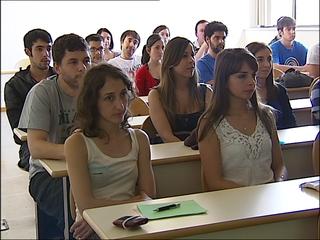 Alumnos de la Universidad de Oviedo