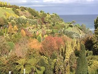 Jardín de Panrico en Luarca