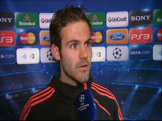 Juan Mata, al final del partido en Stamford Bridge.