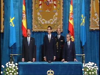 Entrega de los Premios Principe de Asturias