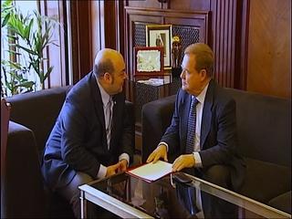 Agustín Iglesias Caunedo y Severino García Vigón