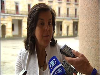 La consejera de Agroganadería y Recursos Autóctonos, María Jesús Álvarez