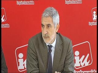 El diputado de IU por Asturias en el Congreso de los Diputados Gaspar Llamazares