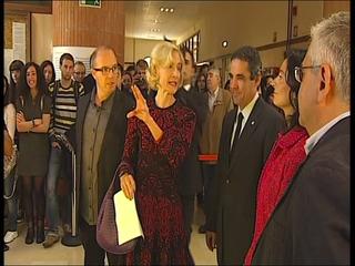 Martha Nussbaum en su visita al Campus de Humanidades de Oviedo