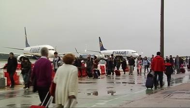 Pasajeros de Ryanair