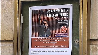 Cartel del concierto de Bruce Springsteen