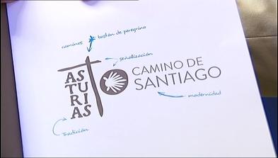 Nueva imagen del Camino de Santiago a su paso por Asturias