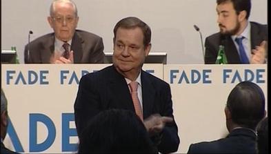 El presidente de FADE, Severino García Vigón