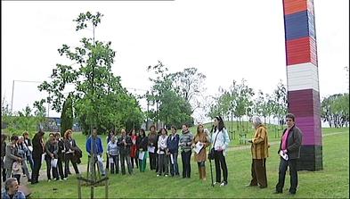 IV Memorial del Sida en el Bosque de la Memoria del parque de Los Pericones