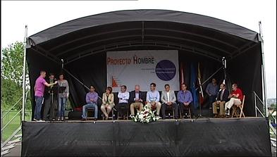Fiesta de Proyecto Hombre en la Quinta de San Eutiquio, en Gijón