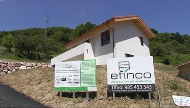 Casa con la máxima calificación en eficiencia energética en Mieres