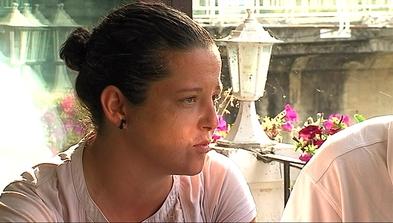 La parraguesa María Llamedo