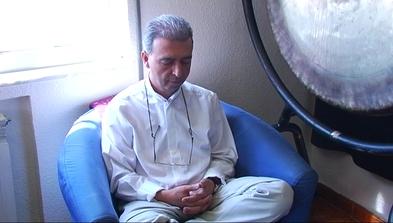 Ramón Leonato, presidente de la Sociedad Española de Meditación