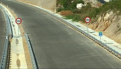 Tramo Pendueles-Llanes de la autovía del Cantábrico.