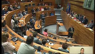 Pleno de la Junta con motivo del Día de Asturias