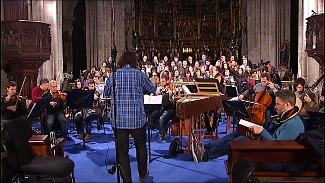 Ensayo del concierto 'El Mesías' de Haendel