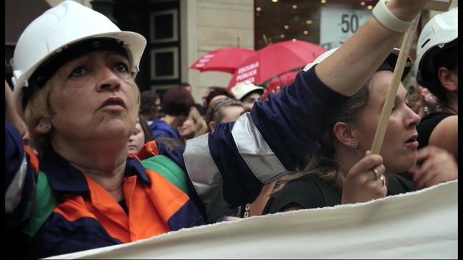 Escena de la película 'Remine, el último movimiento obrero'