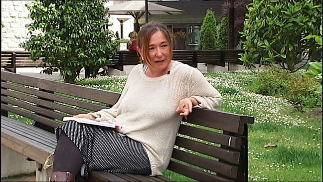 La periodista asturiana Lucía Naveros