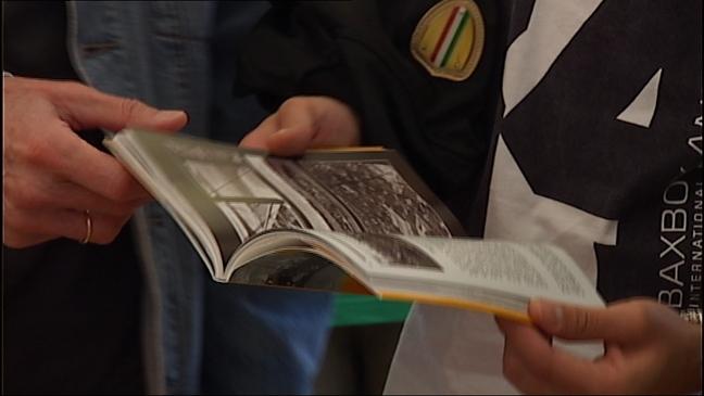 Venta de libros en la Semana Negra