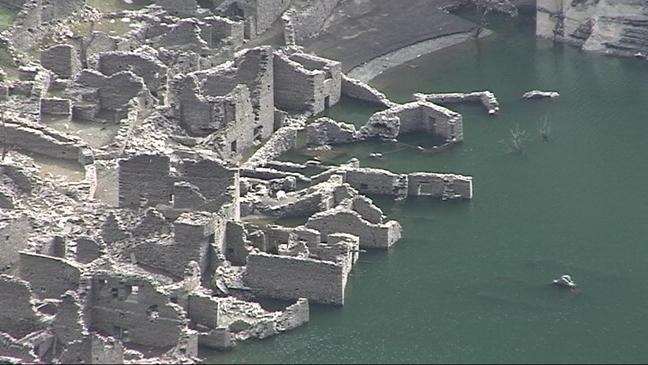 Las Ruinas De Salime Al Descubierto Noticias Rtpa