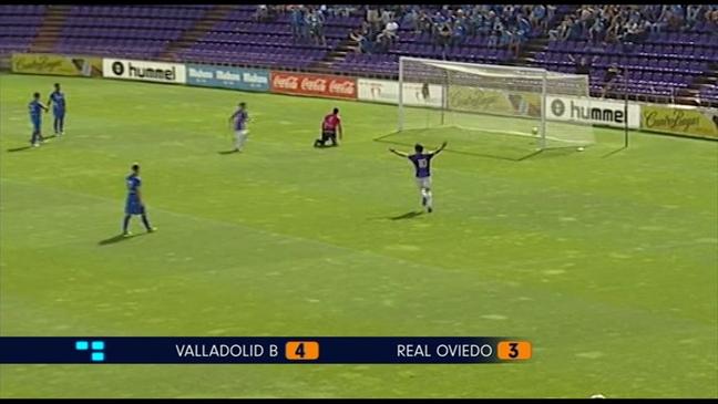 Derrota del Real Oviedo ante el Valladolid B