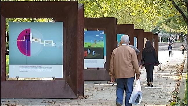 Muestra, 'Imágenes con química' en el campo de San Francisco de Oviedo