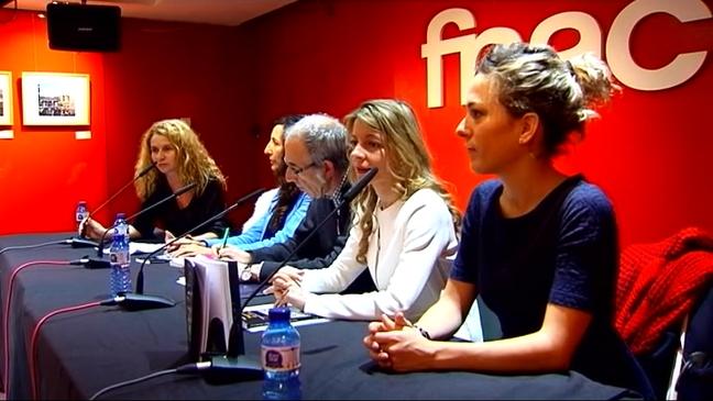 Presentación en Madrid de 'Mujeres de cine'