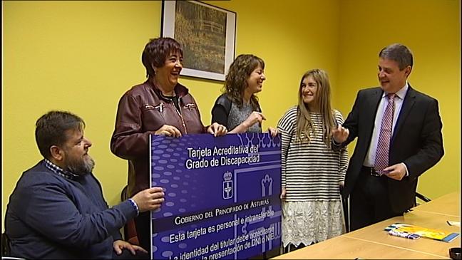 Un total de 105.000 asturianos recibirán una tarjeta que acredita su minusvalía