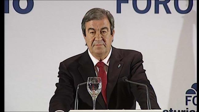 El secretario general de Foro, Francisco Álvarez-Cascos