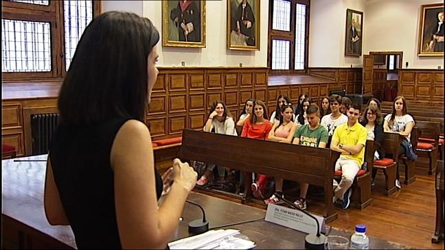 Estudiantes asistentes a la VI Edición de los Campus de Científicos
