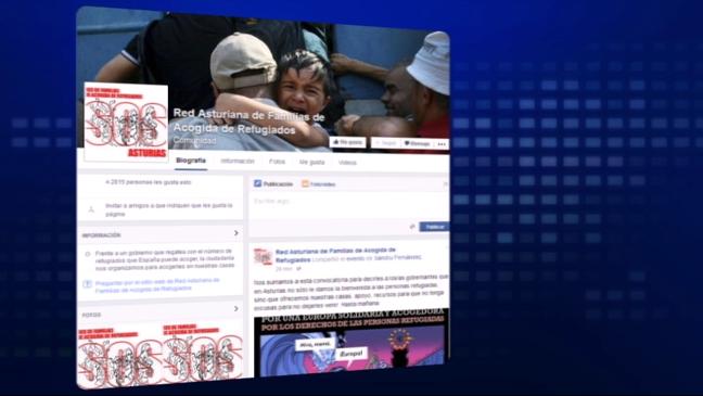 Plataforma creada en Facebook para el acogimiento de refugiados