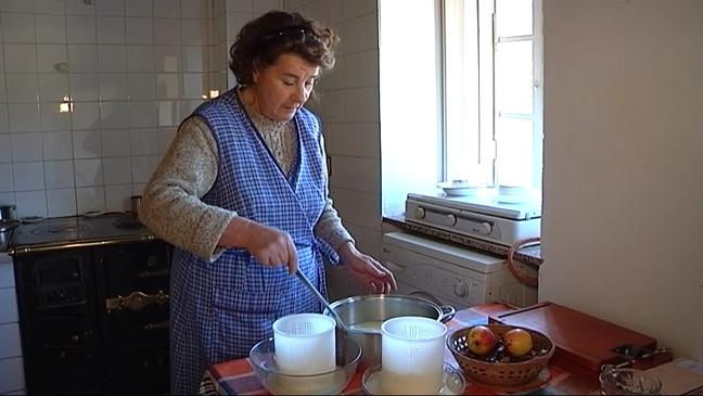 Elaboración del queso de los Beyos en casa