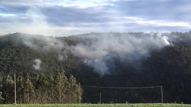 Incendios activos en Asturias