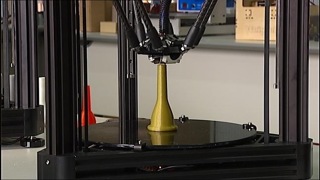 Tuba realizada con impresora 3D