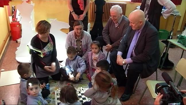 El ajedrez llega al Colegio Germán Fernández Ramos
