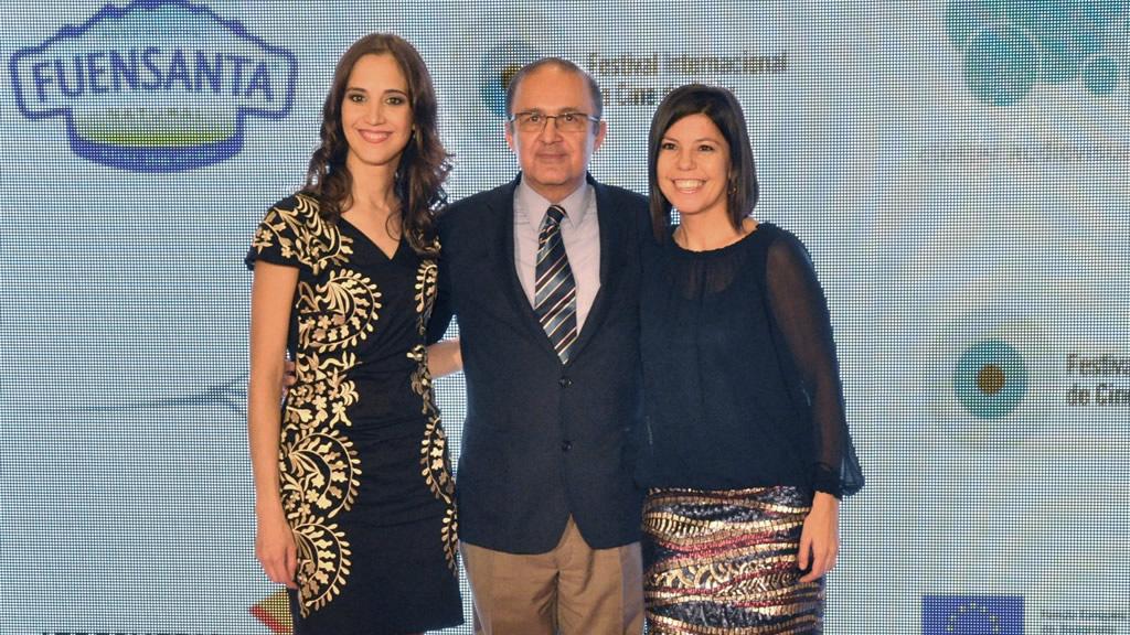 Arantza Uruburu, Fernando Miranda y Leonor Suarez.