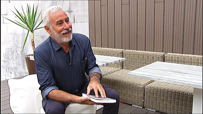 El escritor italiano Pino Cacucci