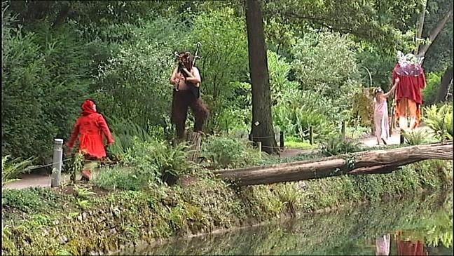 Comienzan Las Noches Magicas Del Jardin Botanico De Gijon Noticias