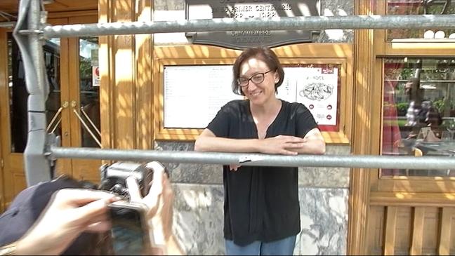 La poeta malagueña Isabel Bono