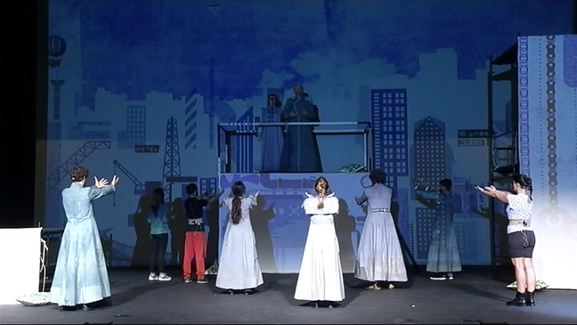 Ensayo del musical 'Sueño de una noche de verano'